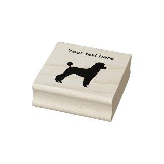 Poodle Dog Breed Rubber Stamp