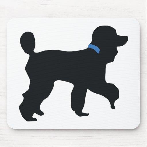 poodle dog mouse mats