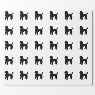 Poodle Dog Wrapping Paper