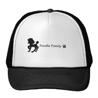 Poodle Family Hat