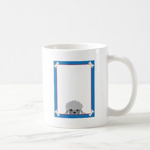 Poodle Frame Coffee Mug