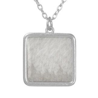 Poodle fur necklace