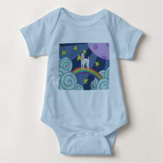 Poodle In Dreamland Baby Clothes Baby Bodysuit