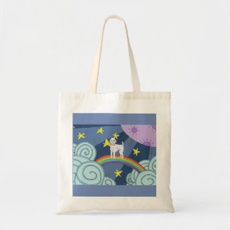 Poodle In Dreamland Tote