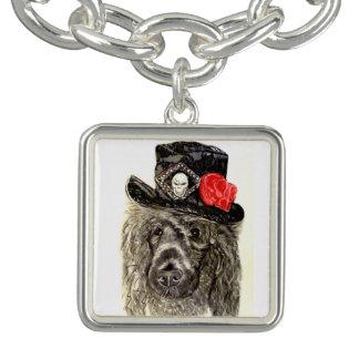 Poodle In Top Hat Bracelet