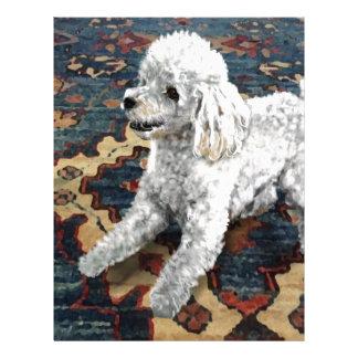 Poodle Letterhead
