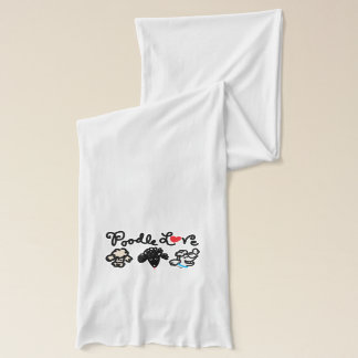 Poodle Love Scarf