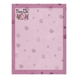 Poodle MOM Custom Letterhead