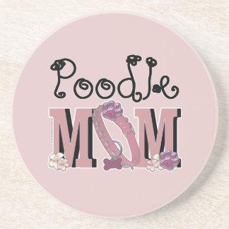 Poodle MOM Drink Coasters