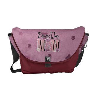 Poodle MOM Messenger Bags