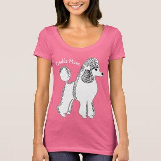 Poodle Mom Women's Scoop Neck T-Shirt
