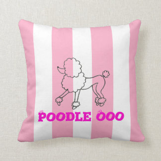 Poodle Ooo Pillow