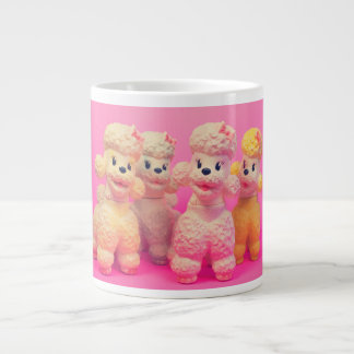 Poodle Parade Large Coffee Mug