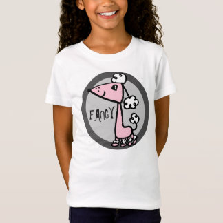 POODLE pink and gray T-Shirt