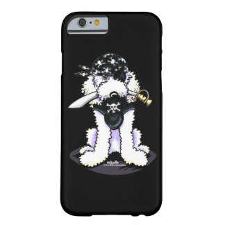 Poodle Pirate Barely There iPhone 6 Case