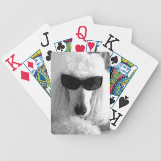 Poodle Playing Cards