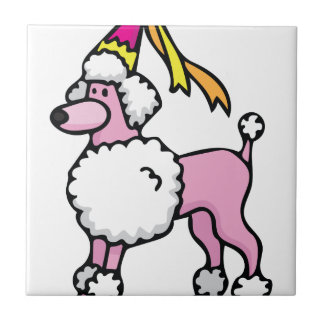 Poodle Princess Ceramic Tiles