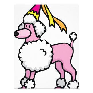 Poodle Princess Personalized Letterhead