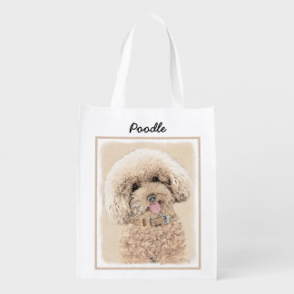 Poodle Reusable Grocery Bag