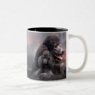 Poodle Rock Art Mug