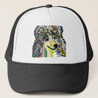 Poodle Soft Pastel Color Palette Trucker Hat