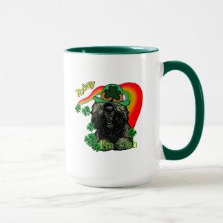 Poodle St Patricks Day Mug