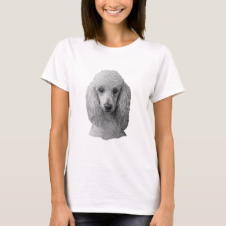 Poodle - Stylized Image - Add Your Own Text T-Shirt