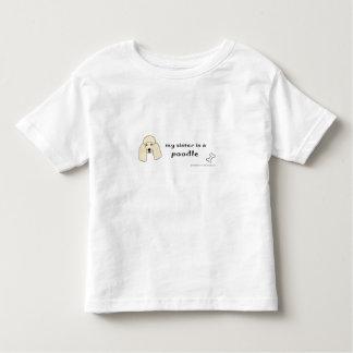 poodle toddler t-shirt