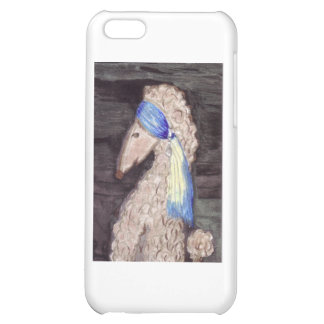 Poodle with the Pearl Earring iPhone 5C Covers