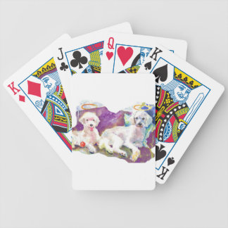 Poodles Poodles Everywhere... with lots of kisses Poker Deck
