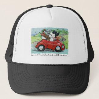 Poodles Vintage Convertible Scripture Hat Cap