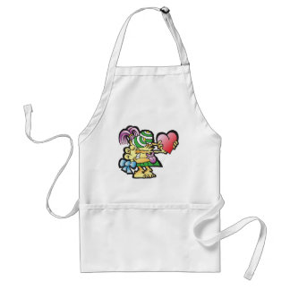 poodley-woodley adult apron