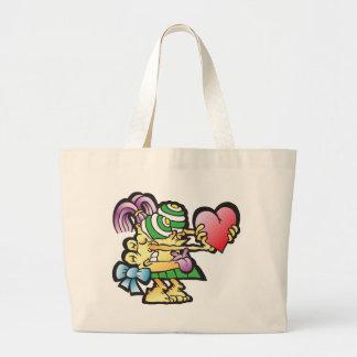 poodley-woodley canvas bags