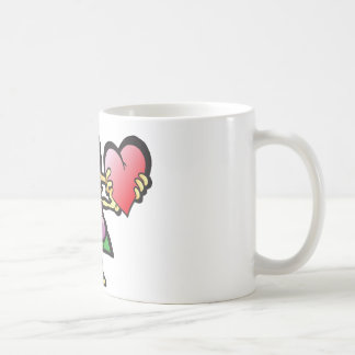 poodley-woodley classic white coffee mug