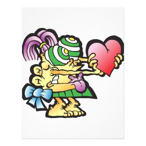 poodley-woodley personalized letterhead