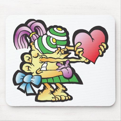 poodley-woodley mouse pad