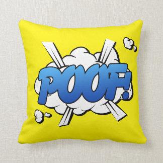 Poof - Comic Sign / Pillow