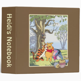 Pooh and Pals 3 Ring Binders