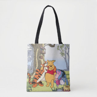 Pooh and Pals Tote Bag