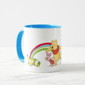 Pooh and Pals Under the Rainbow Mug