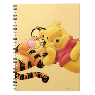 Pooh and Tigger Spiral Notebook