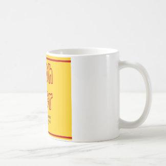 Pooh Beer Classic White Coffee Mug