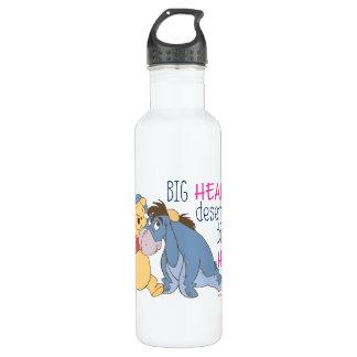 Pooh & Eeyore   Big Hearts Deserve Big Hugs 710 Ml Water Bottle