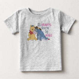 Pooh & Eeyore | Big Hearts Deserve Big Hugs Baby T-Shirt