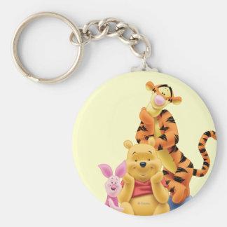 Pooh & Friends 11 Keychain