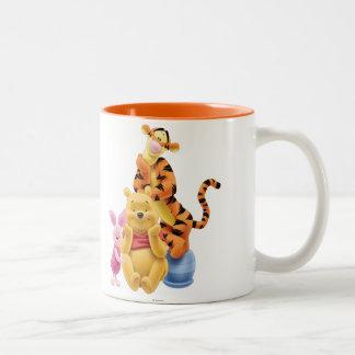 Pooh & Friends 11 Two-Tone Coffee Mug