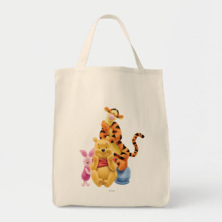 Pooh & Friends 11 Tote Bag