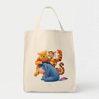 Pooh & Friends 3 Tote Bag
