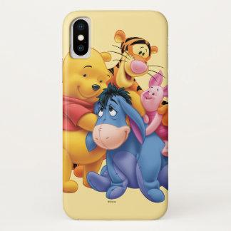 Pooh & Friends 5 iPhone X Case