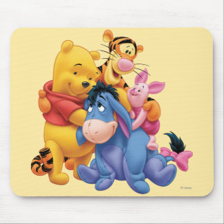 Pooh & Friends 5 Mouse Pad